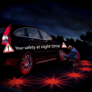 Home Intuition LED Road Flares Emergency Beacon Safety Flare Flashing Warning Light for Car Truck Boat with Hook and Magnetic Base