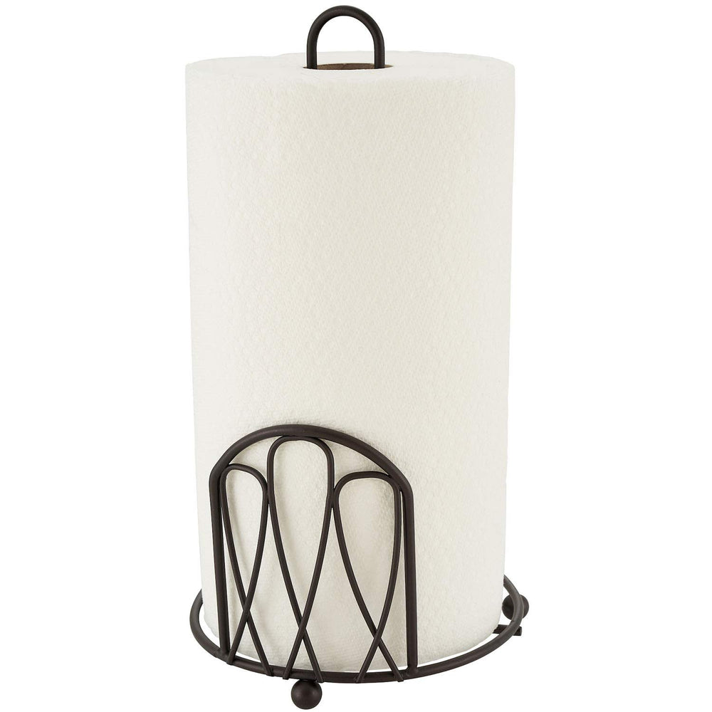 Home Intuition Infinity Collection Bronze Paper Towel Holder