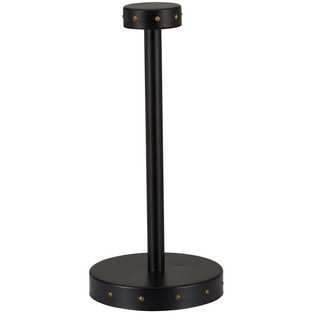 Home Intuition Stud Collection Paper Towel Holder - Matte Black