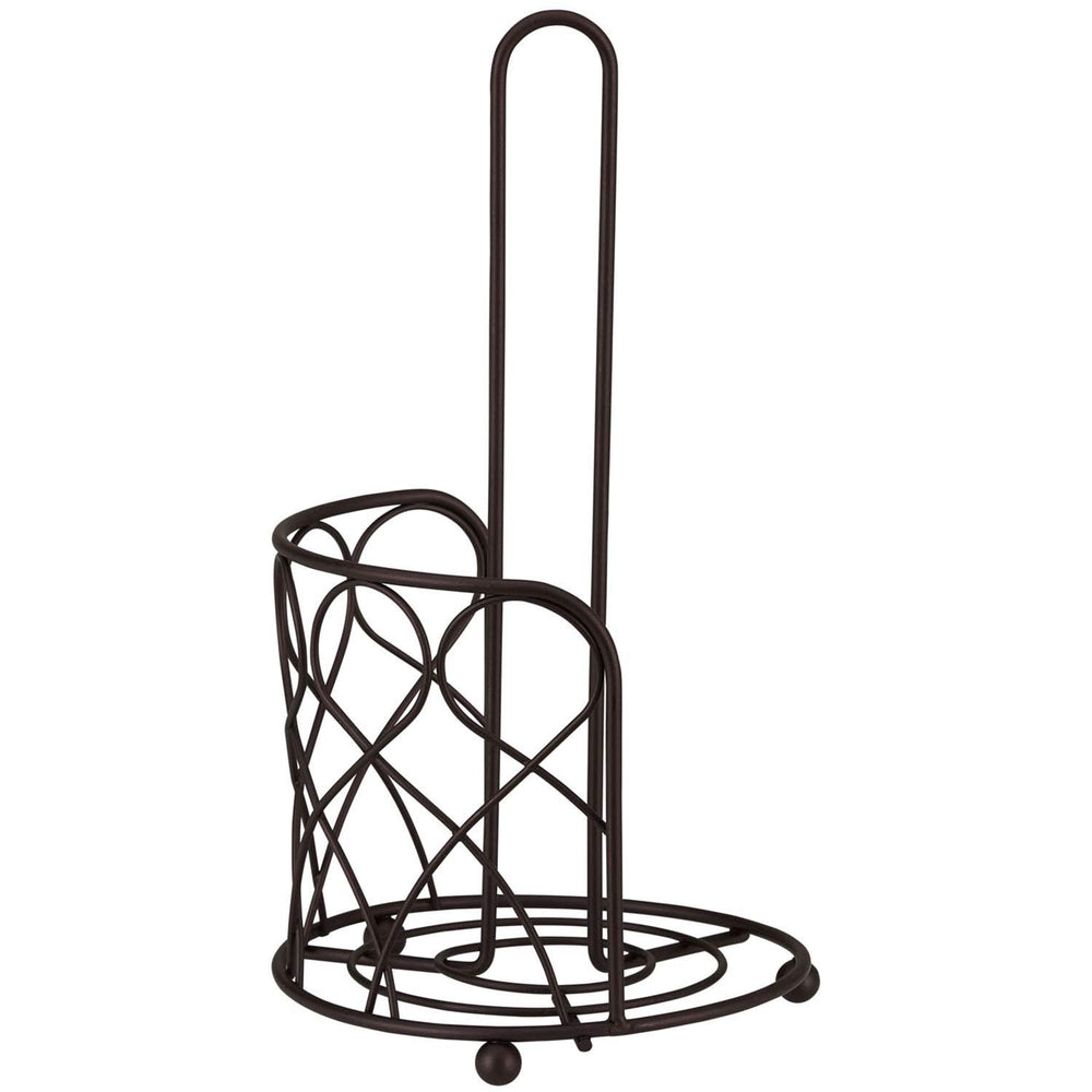 Home Intuition Loop Collection Bronze Paper Towel Holder