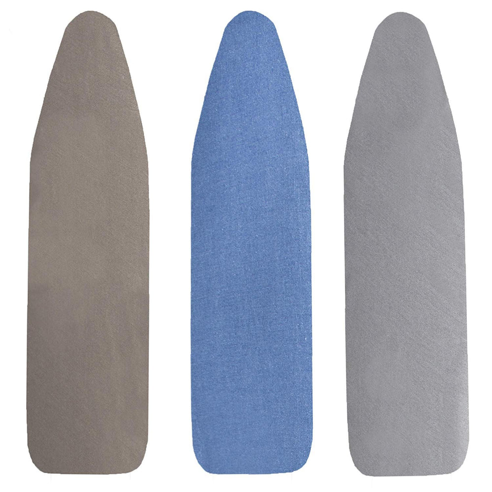 Scorch Resistant Silicone Coated Ironing Board Cover and Pad, Random Color