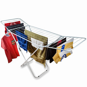 Home Intuition Foldable Drying Rack Clothes Dryer, White