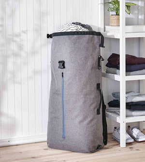 Home Intuition Laundry Backpack with Shoulder Straps and Second Pocket for Storage