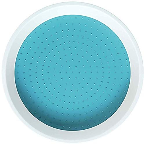 Home Intuition Lazy Susan Turntable Non Skid for Cabinets and Pantry, Turquoise