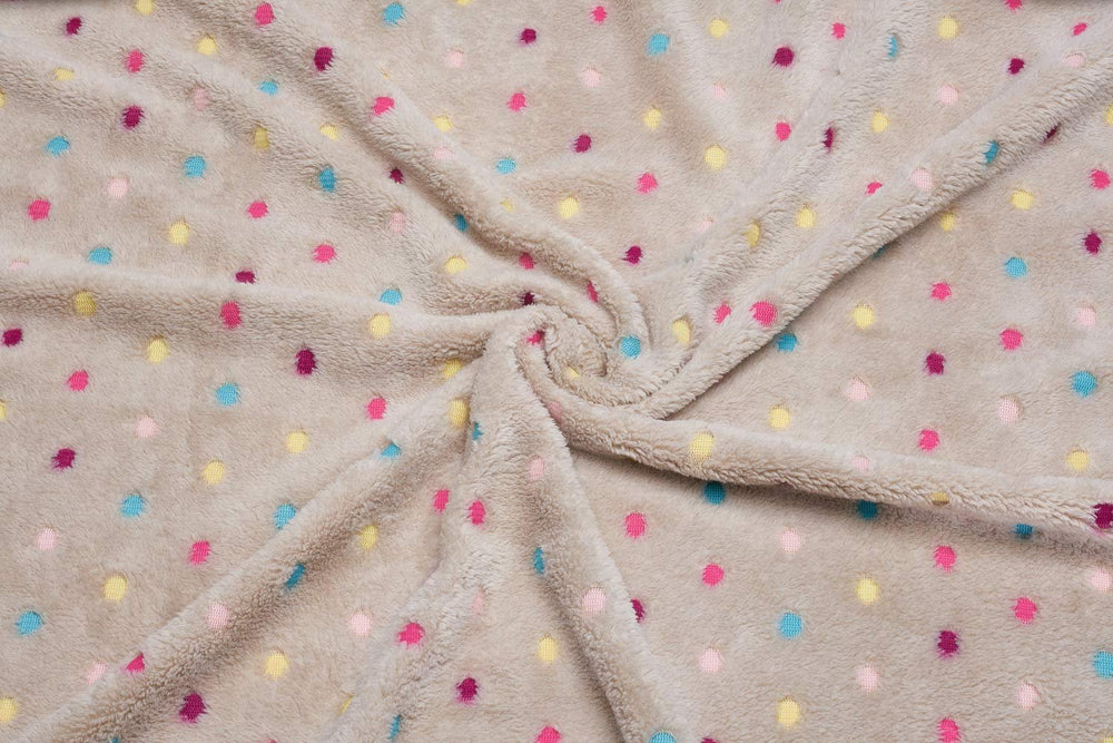 Home Intuition Pet Dog Blanket Soft Fleece Fabric, Large