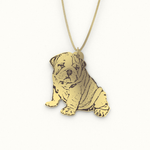Load image into Gallery viewer, Personalized Photo Pendant Necklace - Jasper Go Fetch