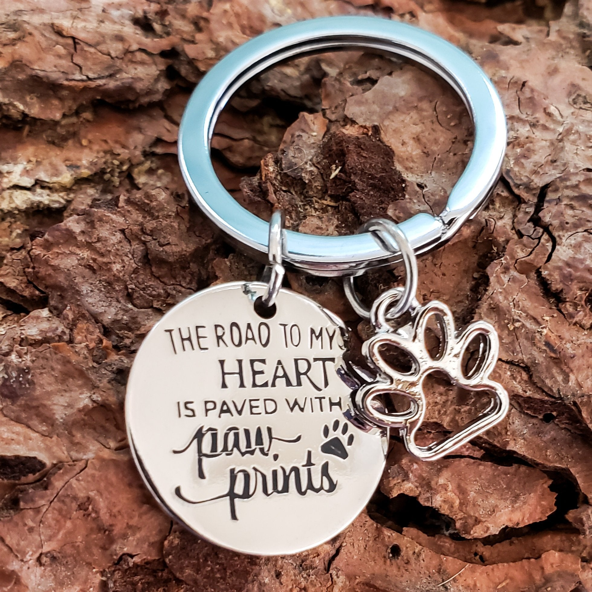 Road to My Heart Keychain - Jasper Go Fetch