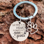 Load image into Gallery viewer, Road to My Heart Keychain - Jasper Go Fetch