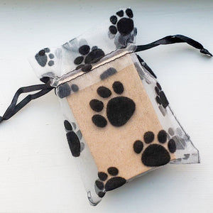 Rescue Pawprint Keychain - Jasper Go Fetch