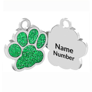 PawPrint Pet ID Tag - Jasper Go Fetch