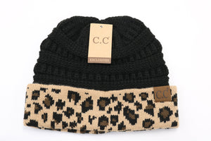 LeopardPrint CC Beanies - Jasper Go Fetch