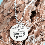 Load image into Gallery viewer, Road to My Heart Necklace - Jasper Go Fetch
