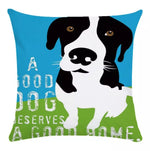 Load image into Gallery viewer, Pawsitivity Pillow Cover Collection - Jasper Go Fetch