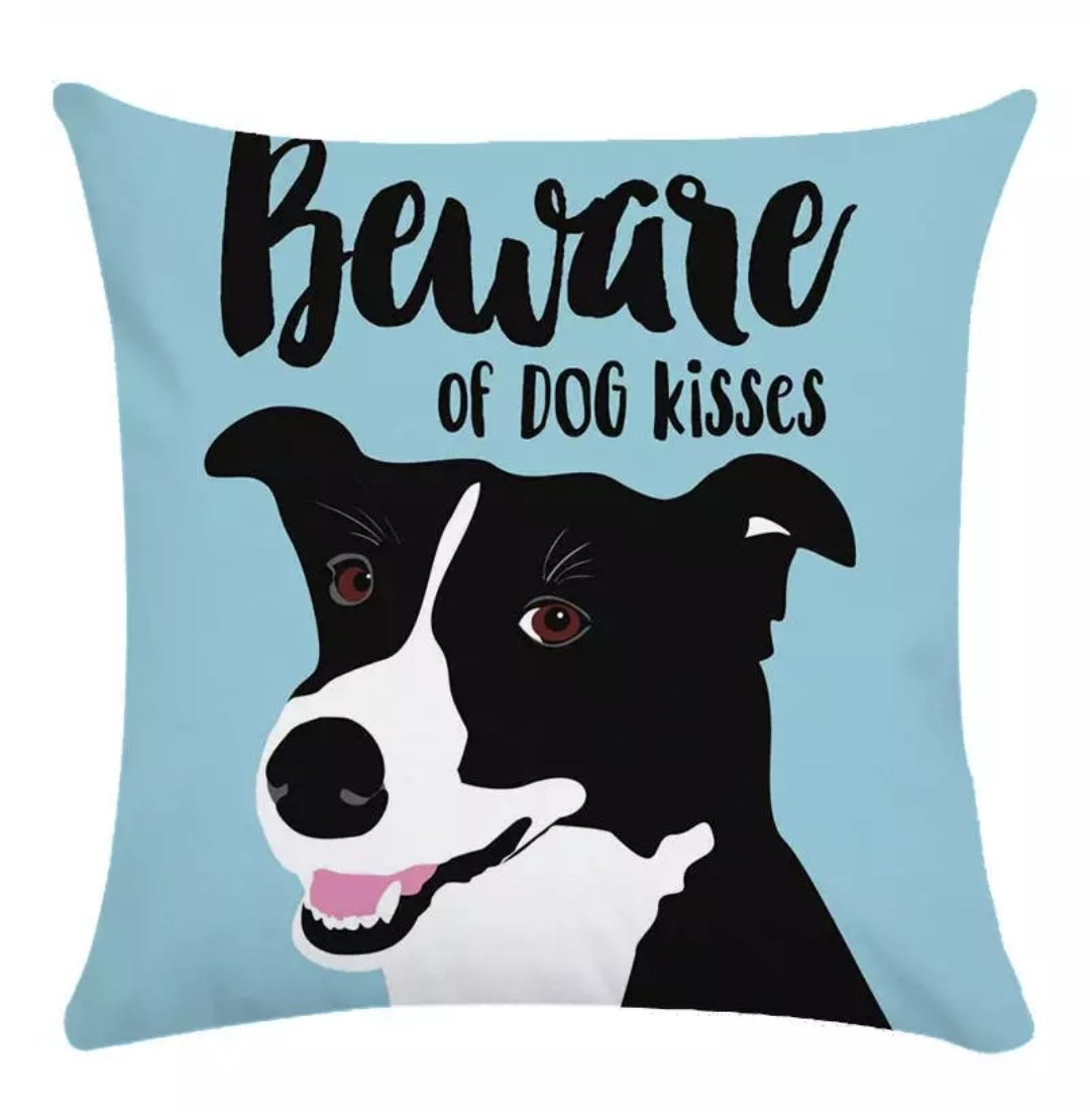 Pawsitivity Pillow Cover Collection - Jasper Go Fetch