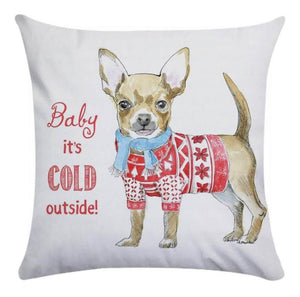 Christmas Pillow Cover Collection - Jasper Go Fetch