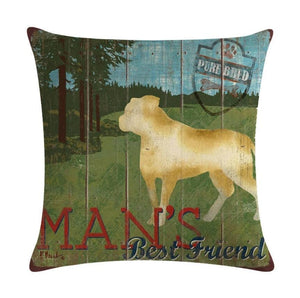 Best Friend Pillow Cover - Jasper Go Fetch