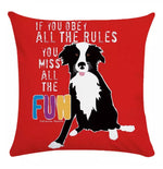 Load image into Gallery viewer, Run & Play Pillow Cover Collection - Jasper Go Fetch