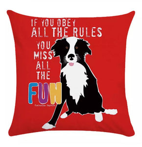 Run & Play Pillow Cover Collection - Jasper Go Fetch