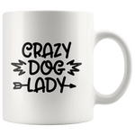 Load image into Gallery viewer, Crazy Dog Lady Mug - Jasper Go Fetch