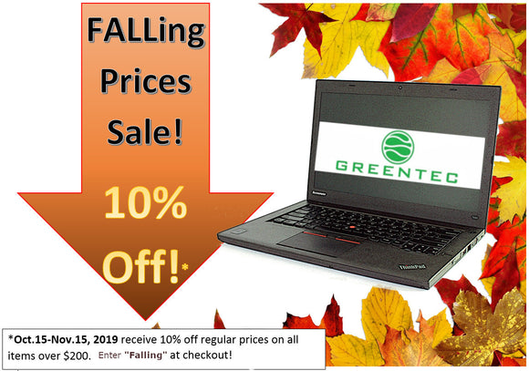 Falling Prices Sale
