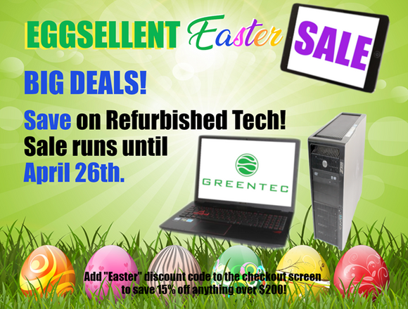 Eggsellent Easter Sale - 15% off!