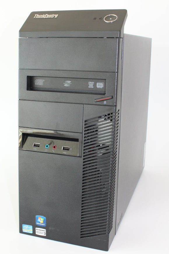 Lenovo ThinkCentre M92p - Desktop tower, I-7 3770, 3.4GHz, 8G, 1T HD, Grade A Refurbished