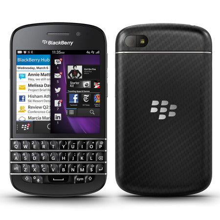 BlackBerry Q10  Smartphone- ROGERS - 16G, Grade A Refurbished
