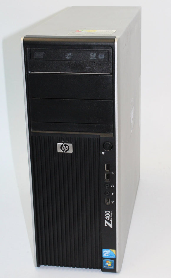 HP Workstation Z400 - Desktop, Xeon U3680, 3.33 GHz,  2x 1TB, 24GB, Grade A Refurbished