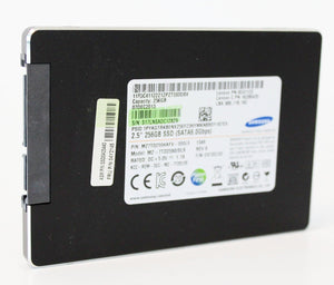 "Samsung 2.5"" Laptop Solid State Hard Drive- Component - 256GB  SSD- Grade A Refurbished"