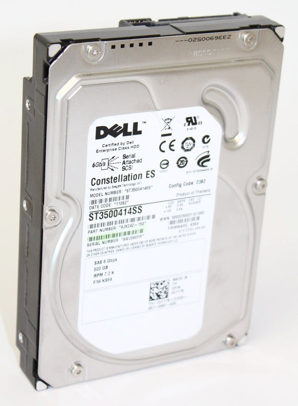 Dell Constellation ES 500G SAS Hard Disk Drive - 3.5