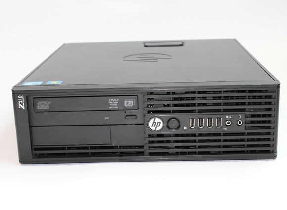 HP Workstation Z210 - Desktop, i-7 2600, 3.4GHz,  8G, 500G  SATA HD, Grade A Refurbished