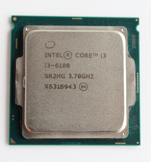 Intel Core i3 -6100 CPU 3.70GHz SR2HG-1151 Socket -Grade A Refurbished
