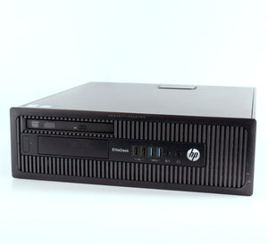 HP EliteDesk 800 G1 - SFF Desktop, i5-4690 3.5GHz, 8GB, 256GB SSD & 1TB SATA, Grade A Refurbished