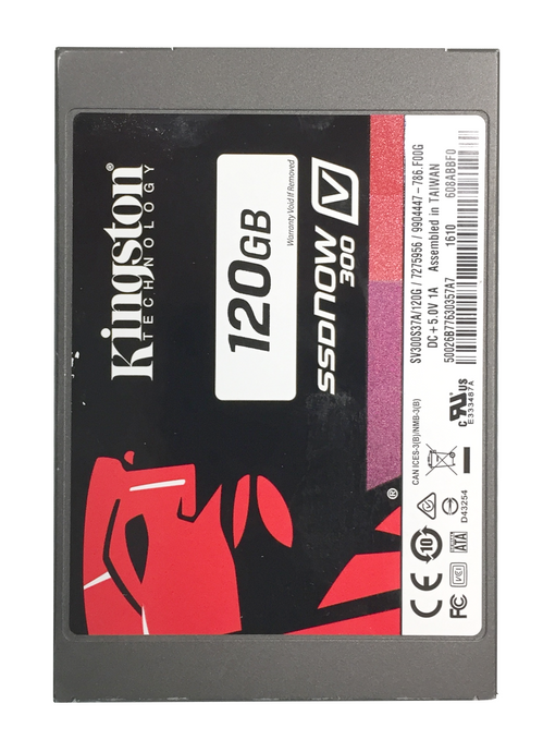120GB Solid State Drive (Installation Only) - Upgrade