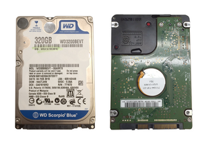 Western Digital Scorpio Blue 320GB (WD3200BEVT) Hard Drive Component - Refurbished