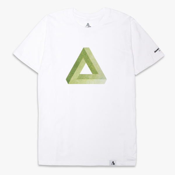 Above & Beyond Tri-State Tee / White