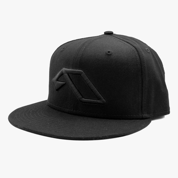New Era Anjuna Snapback / Black on Black