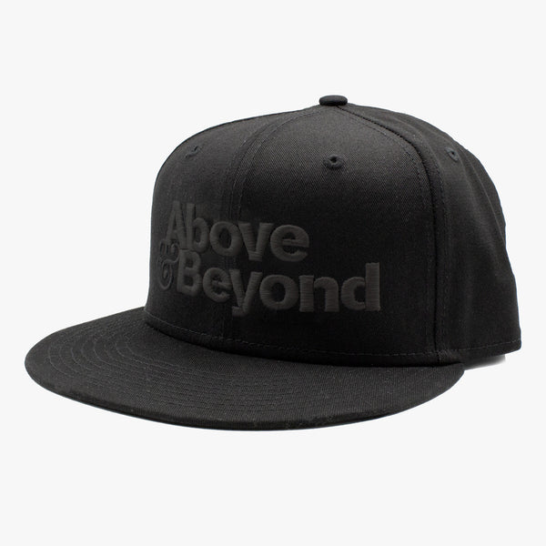 New Era A&B Snapback / Black on Black