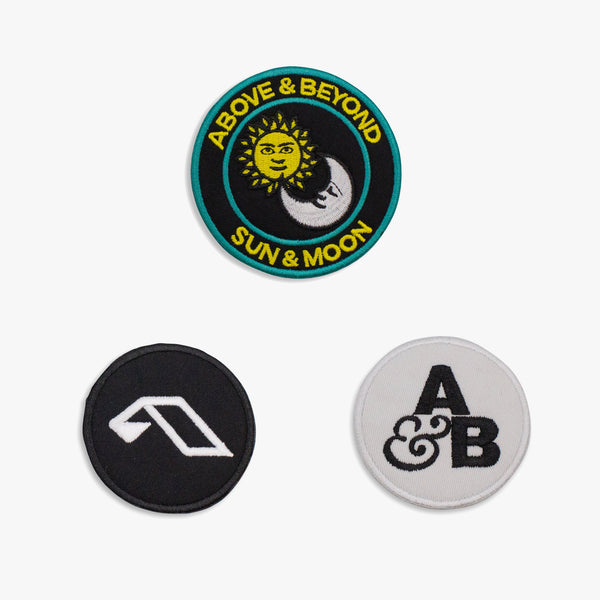 Anjunastore Iron-On Patches (3-pack)