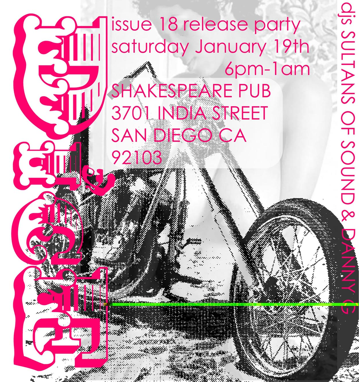 Dice San Diego Issue Release Party