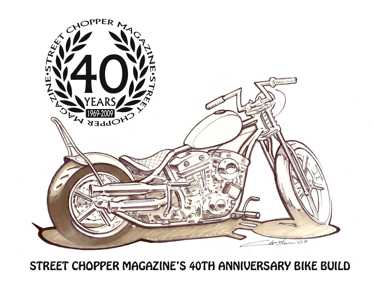 Street Chopper 40th Anniversary