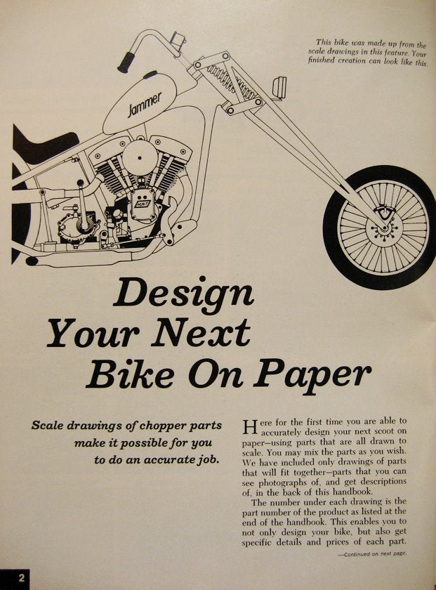 Designing your next bike made easy!!!