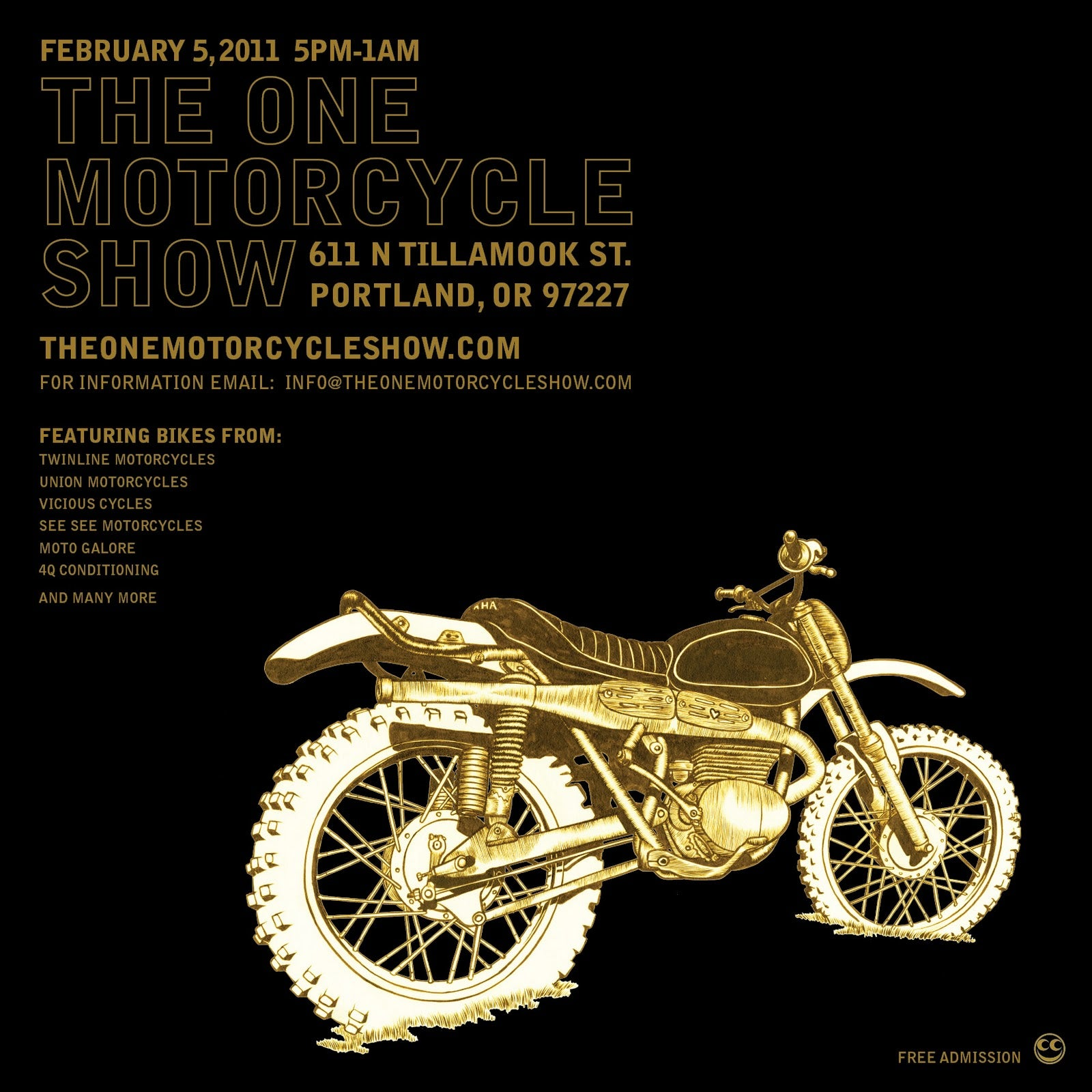The One Motorcycle Show: Portland