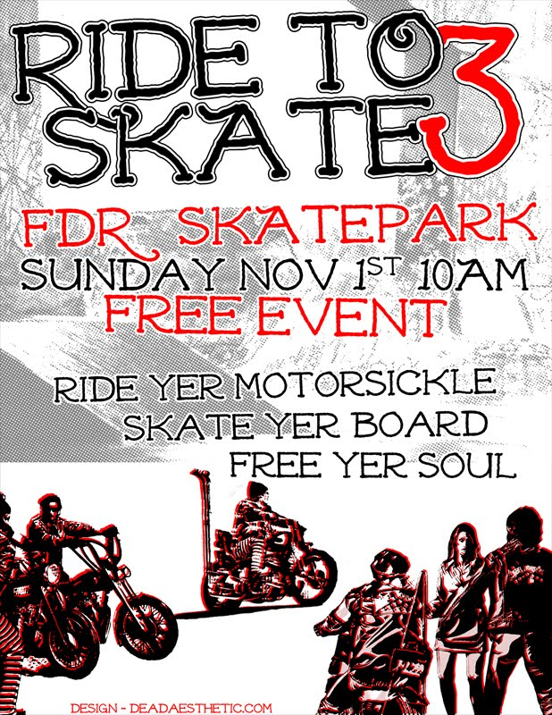 Ride to Skate #3: FDR