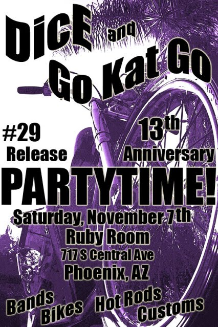 November 7th: DicE Party @ Go Kat Go in Arizona