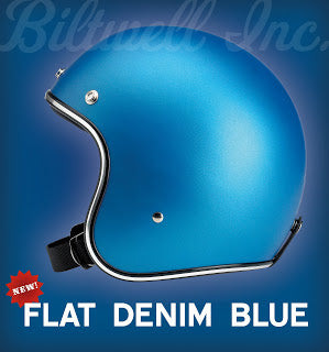 Flat Denim Blue