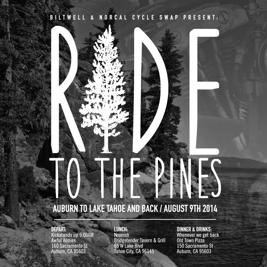 Ride to the Pines