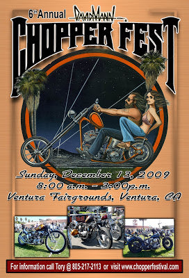 6th Annual David Mann Chopperfest