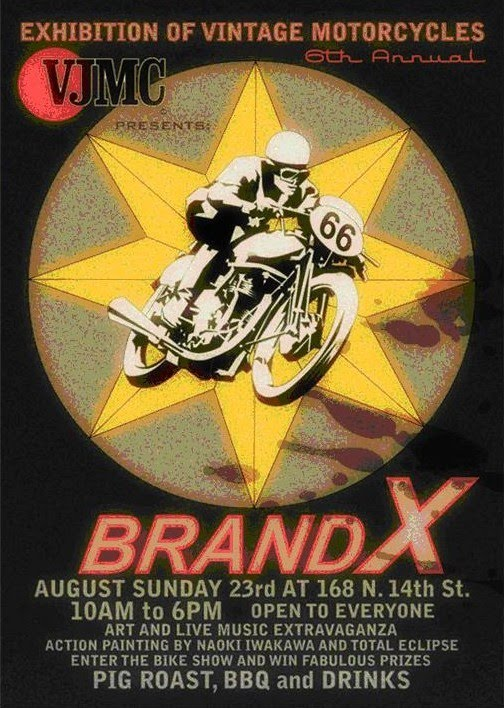BRAND X BROOKLYN SUNDAY