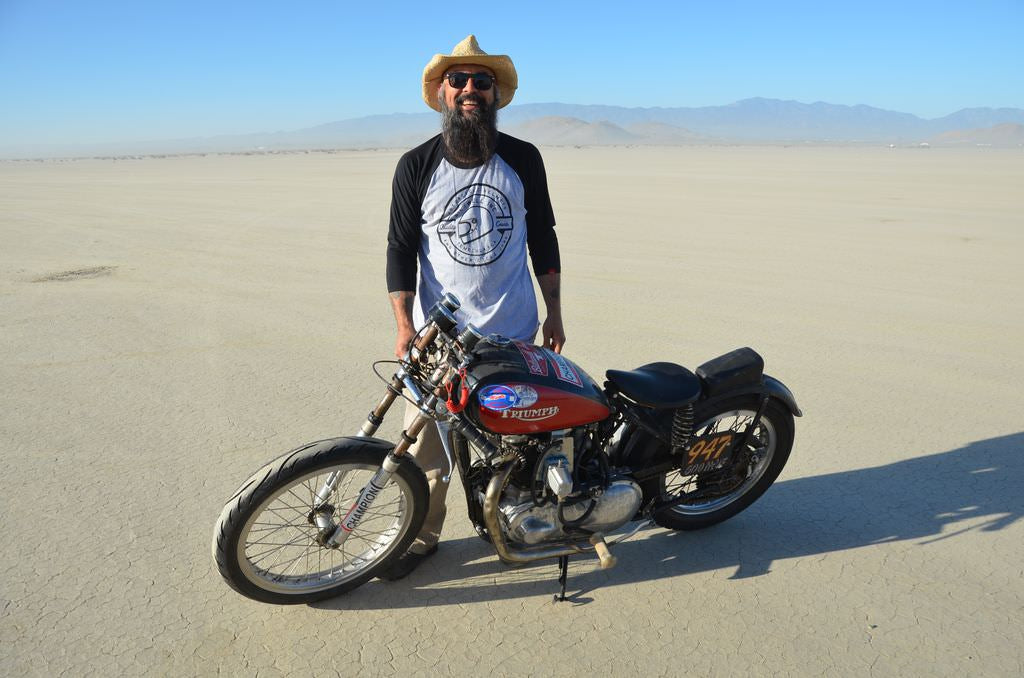Land Speed Racing at El Mirage with Wes White of Four Aces Cycle